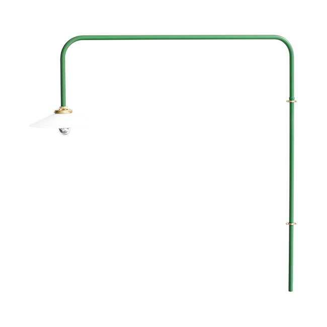 [valerie objects/발레리 오브젝트] Hanging lamp n°5 - Green // 행잉 램프 n°5 - 그린