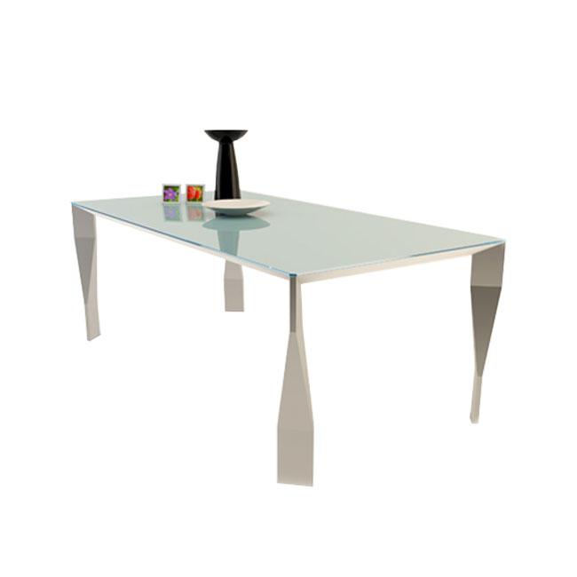 [Molteni&C/몰테니앤씨] Diamond table - Glass, Aluminium legs // 다이아몬드 테이블 - 유리, 알루미늄 다리