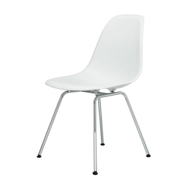 [Vitra/비트라] Eames Plastic Side Chair DSX - Chrome base // 임스 플라스틱 사이드 체어 DSX - 크롬 베이스