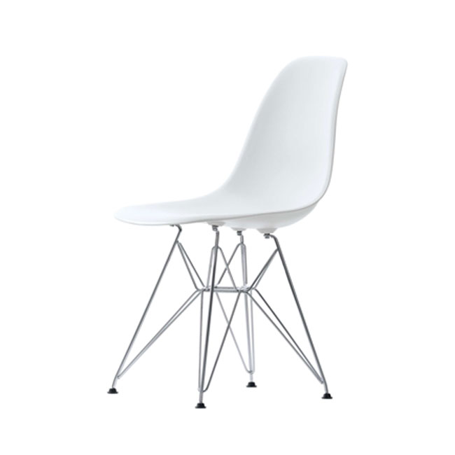 [Vitra/비트라] Eames Plastic Side Chair DSR - Chrome base // 임스 플라스틱 사이드 체어 DSR - 크롬 베이스