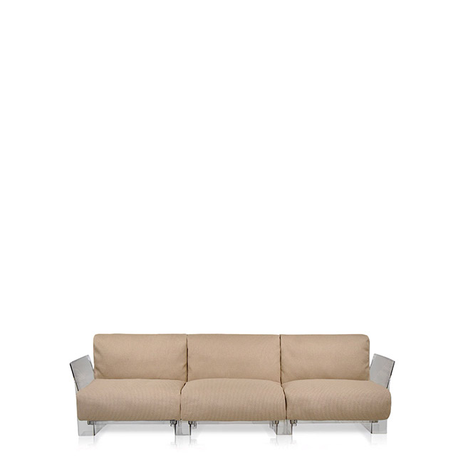 [Kartell/카르텔] POP OUTDOOR 3-seater Sofa