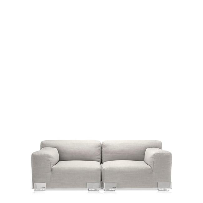 [Kartell/카르텔] PLASTICS DUO 2-seater Sofa