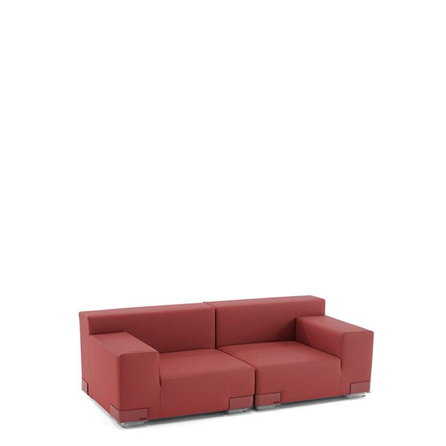 [Kartell/카르텔] PLASTICS TECH FABRICS 2-seater Sofa