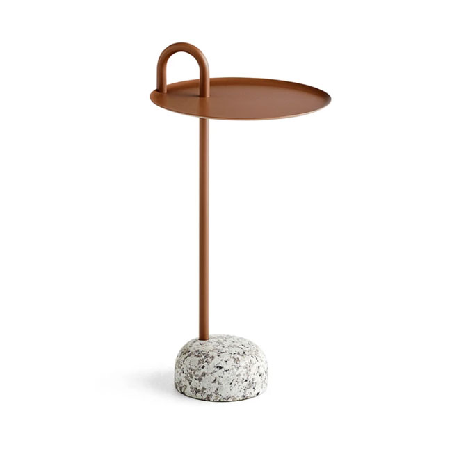 [HAY/헤이] Bowler Table - Pail Brown // 보울러 테이블 - 페일 브라운