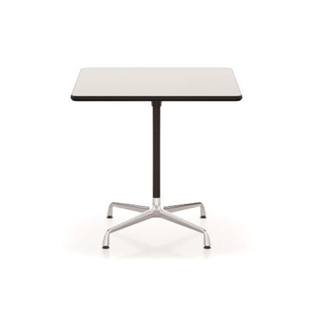 [Vitra/비트라] Eames Contract Tables 75x75, HPL white // 임스 콘트랙트 테이블 75x75, HPL white