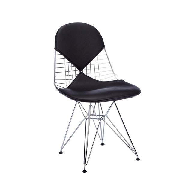 [Vitra/비트라] Wire Chair DKR-2, Leather // 와이어 체어 DKR-2, Leather
