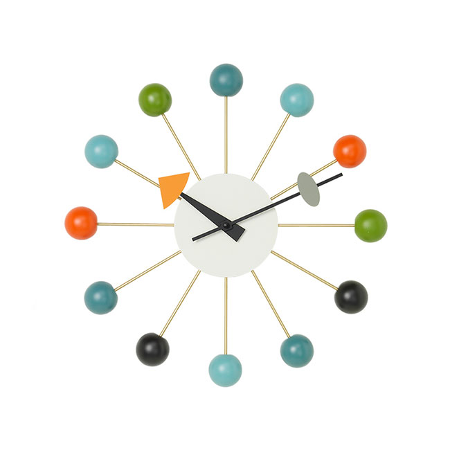 [Vitra/비트라] Ball Clock - Multi color // 볼 클락 - 멀티 컬러