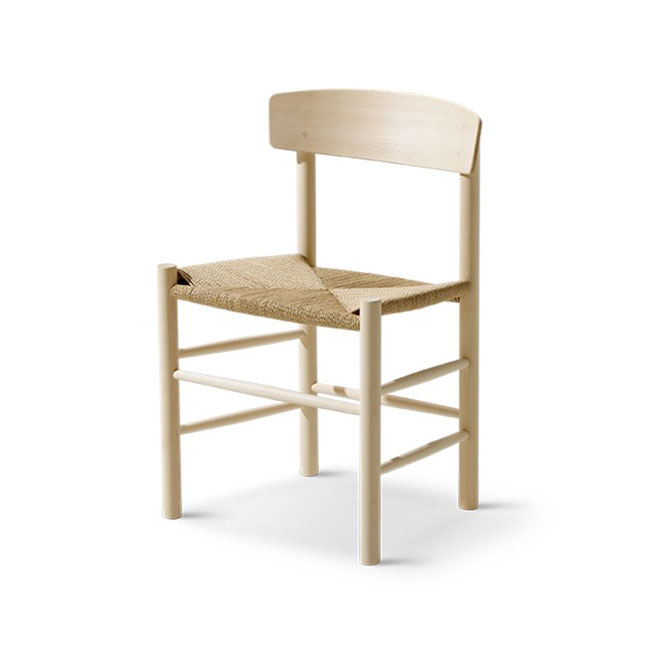 [Fredericia/프레데리시아] Mogensen J39 Chair - Beech, soap // 모겐센 J39 체어 - 비치, 솝