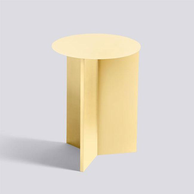 [HAY/헤이] SLIT TABLE HIGH - Light yellow // 슬릿 테이블 하이 - 라이트 옐로우