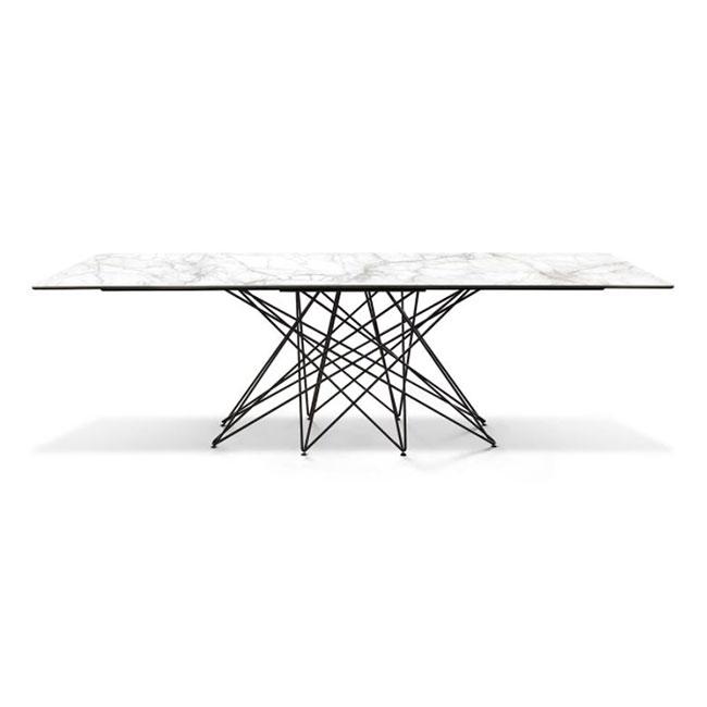 [BONALDO/보날도] Octa Table - Calacatta Ceramic // Octa 테이블 - 카라카타 세라믹
