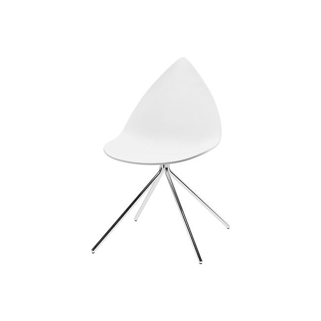 [BoConcept/보컨셉] Ottawa Chair - White, Chrome // 오타와 체어 - 화이트, 크롬