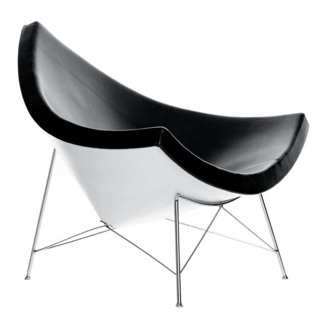 [Vitra/비트라] Coconut Chair - Leather // 코코넛 체어 - 레더