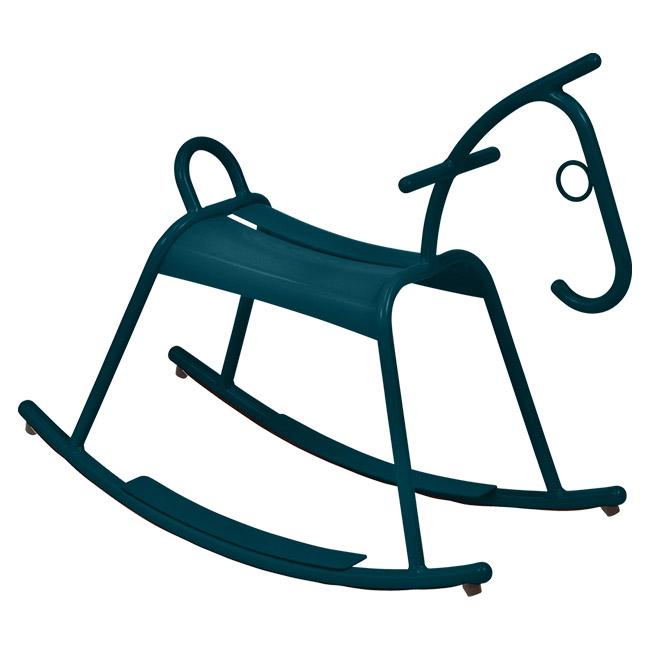 [Fermob/페르몹] Adada Rocking Horse - Acapulco Blue // 아다다 락킹 홀스