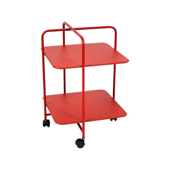 [Fermob/페르몹] Alfred Side Table on Wheels - Poppy // 알프레드 사이드 테이블 온 휠