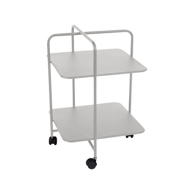 [Fermob/페르몹] Alfred Side Table on Wheels - Steel grey // 알프레드 사이드 테이블 온 휠