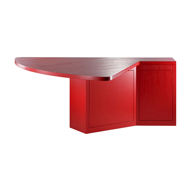 [TECTA/텍타] M1-2 Table - Red