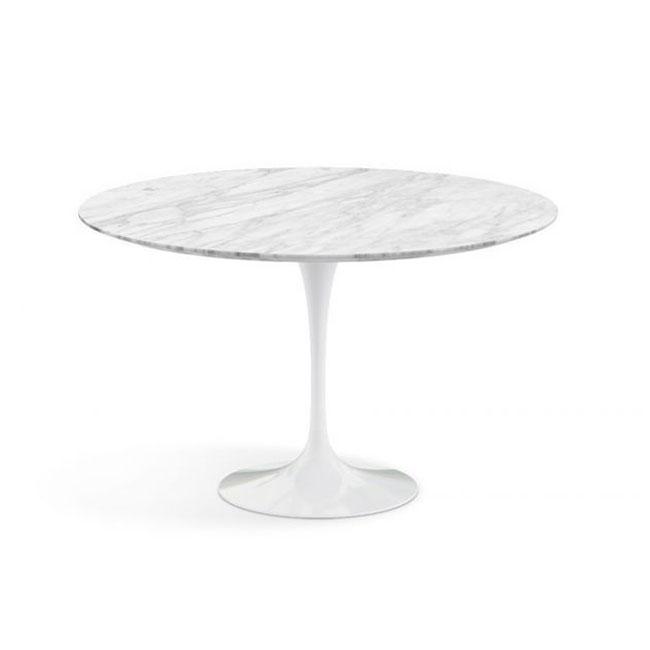 [Knoll/놀] Saarinen Dining Table, Ø 120-Statuarietto // 사리넨 다이닝 테이블, Ø 120-스타투아리에토
