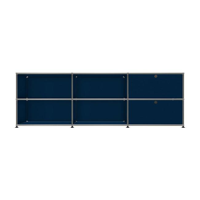 [USM Haller/유에스엠 할러] 3x2 Module System (1top-1middle-door, W229 x H74) // 3x2 모듈 시스템 (1top-1middle-door, W229 x H74)