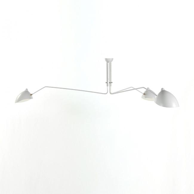 [Serge Mouille/세르주 무이] Ceiling lamp 3 rotating arms White // 실링 램프 3 로테이팅 암 화이트