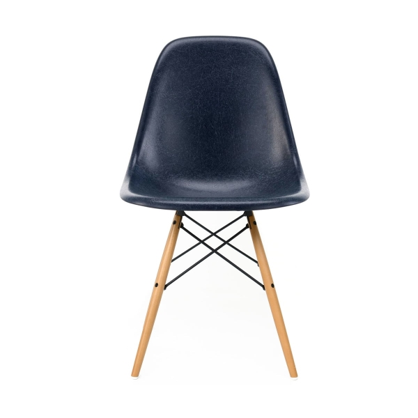 [Vitra/비트라] Eames Fiberglass Side Chair DSW Navy Blue // 임스 파이버글래스 사이드 체어 DSW 네이비 블루